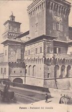 FERRARA - Particolari del Castello