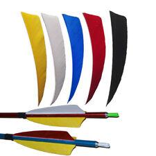 "50pcs 4"" Shield Arrow Feather Handcraft Turkey Feather Fletching Fletches"