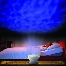 Romantic Ocean Wave light LED Dream Night Projector Lamp Master Kids Room Gifts