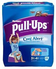 Pull-Ups Training Pants with Wetness Liners, Boys, 3T-4T, Jumbo 23 ea