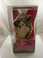 hand crafted glass Christmas Ornament Rare Wizard of oz scarecrow Kurt S. Adler