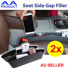 2x Car Seat Gap Caddy Box Pocket Storage Organizer Holder Easy Catcher