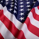 3'x5' FT American Flag USA US U.S. Printed Polyester Stars Brass Grommets