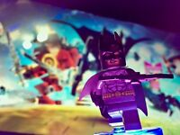 LEGO Dimensions Batman Minifigure With Disc Base NEW