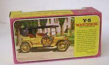 Repro Box Matchbox MOY Nr.05 1907 Peugeot Blisterbox