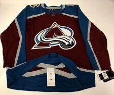 COLORADO AVALANCHE size 56 = XXL - ADIDAS NHL HOCKEY JERSEY Climalite Authentic