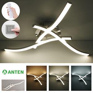 LED Design Deckenleuchte Dimmbar Deckenlampe Wohnzimmer Modern Lampe Schwenkbar