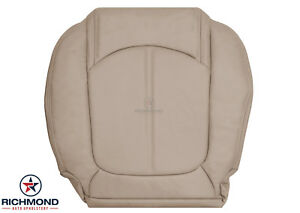 2007-2012 GMC Acadia SLT -Driver Side Bottom Replacement LEATHER Seat Cover Tan