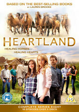 Heartland: The Complete Eighth Season DVD (2015) Amber Marshall cert PG 5 discs