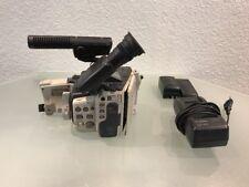 Canon Ex 1 Hi 8mm Video Camera + Recorder Piezo Auto Focus