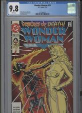 WONDER WOMAN #76 MT 9.8 CGC WHITE PAGES BOLLAND COVER MODER ART LOEBS STORY