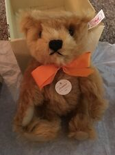 Steiff Exclusively For Japan Classy, Red Blonde 26 Teddy Bear Mint In Box