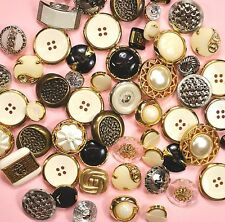 Buttons Galore Value Pack Assorted Gold & Silver HAB109 - Dress It Up