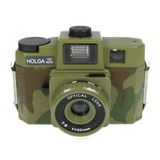 Holga 120GCFN Camouflage Medium Format Film Camera Glass Lens / Colored Flash