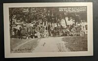 Mint Vintage In ye Olden Time New Albany Indiana Real Photo Postcard RPPC