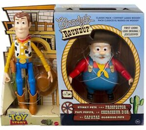 Toy Story Mattel Woody's ROUNDUP with Stinky Pete the Prospector!