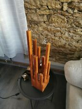 Wood lamp handmade