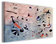 Quadri famosi Joan Mirò vol IV Stampa su tela arredo moderno arte design canvas
