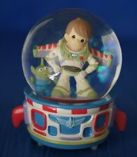 Buzz Alien Toy Story Snowglobe Musical Figurine Disney Precious Moments 123103