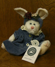 """Boyds Plush #916630 Jenna C Lapinne, 8"""" rabbit NEW/Tag From Retail Store Jointed"""