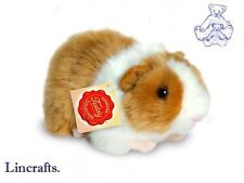 Gold & White Guineapig, Guinea Pig Plush Soft Toy by Teddy Hermann. 92639