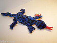 "Ty Beanie Baby ""Lizzy"" The Lizard 1995 - Retired with Tags 4033 Mwt"