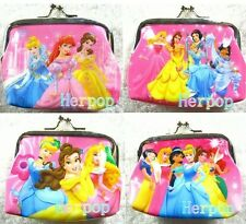 New 12pcs Princess Girls' Coin Purse Wallet Party Favor