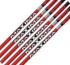 Carbon Express Maxima Red 250 Raw Shafts, 1 Dozen