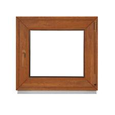 Fenster BxH 120x47 cm 2 & 3 fach Verglasung - durchgefärbter Golden Oak Premium
