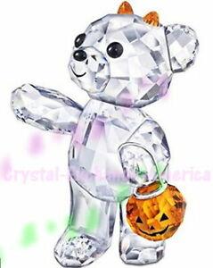 Swarovski Lovlots Kris Bear Halloween Pumpkin 1096026, Limited Edition 2011, MIB