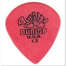 DUNLOP Plettro plettri per chitarra elettrica acustica Tortex Jazz Red L3