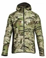 NEW Under Armour Mens Barren Hunting Camo Fleece Hoodie Jacket 1283119-900