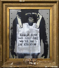 Poster - Banksy Planet of the Apes Street Art (Graffiti Picture Artwork Artist)