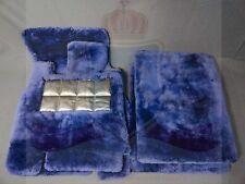 Bentley Arnage Lambs Wool Ship Skin Floor Mats Blue Brand New Set Order Yours