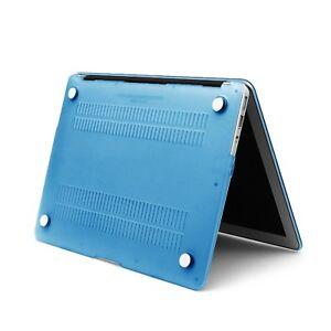 "Hard Case Macbook Air 11 "" A1370/A1465 2012 Blue Mat Touch"