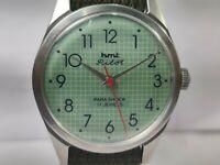 Vintage Hmt Pilot Mens Analog Dial Mechanical Hand Winding Wrist Watch OG75