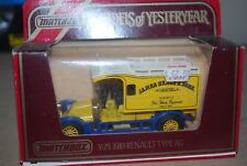 MATCHBOX MODELS OF YESTERYEAR Y25 1910 RENAULT TYPE AG JAMES NEALE & SONS MODEL
