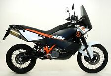 Terminale Race-Tech Dark dx+sx con fondello Arrow KTM 990 Adventure 2006>2014
