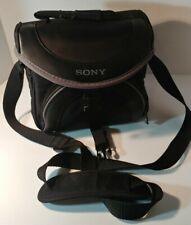Sony LCS-X20 Black Camera Camcorder Shoulder Carry Bag Travel Storage