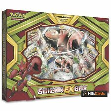 POKEMON TCG Scizor ex COLLECTION BOX: BOOSTER Pack + carte promo