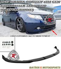 CityKruiser CK-Style Front Lip (Urethane) Fits 11-17 Honda Odyssey