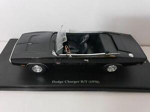 Voiture miniature américaine 1/24 DODGE Charger R/T 1970 noire Fast and Furious