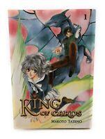 King of Cards Vol. 1 by Makoto Tateno - shoujo manga in English Fantasy Romance