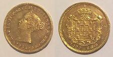 FR – PORTUGAL – D. MARIA II – 1851 - 1.000 REIS - GOLD - BELA - UNC