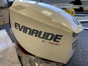 Evinrude G1 Outboard Hood 150-200HP V6 WHITE Damaged