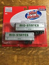 Mini Metals Scale 1:87 Ho Scale #31105 Mid-States