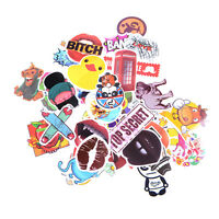 20-50pcs Mix Stickers Skateboard Sticker Graffiti Laptop Luggage Car Decals