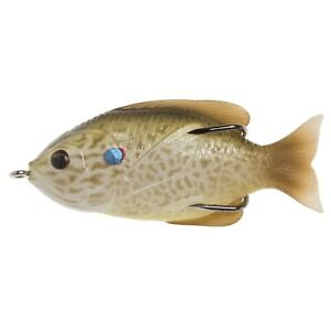 """Live Target Hollow Body Sunfish Pearl/Olive Pumpkinseed 3.0"""", 7/16 oz _S22"""