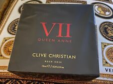 Genuine Clive Christian Queen Anne VII Rock Rose Super RARE Brand NEW Sealed