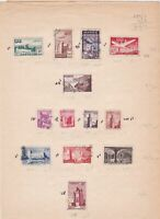morocco mounted mint used stamps ref r8618